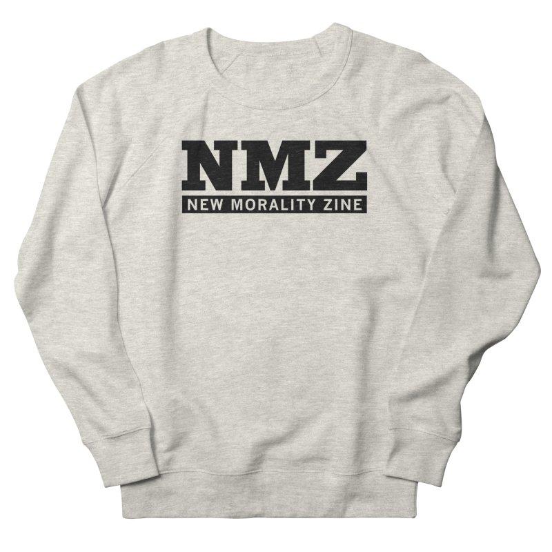 NMZ Logo Men's French Terry Sweatshirt by New Morality Zine