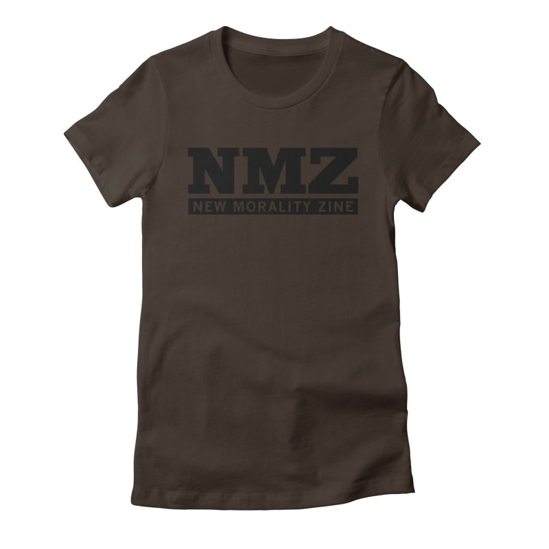 NMZ Logo Women's Fitted T-Shirt by New Morality Zine