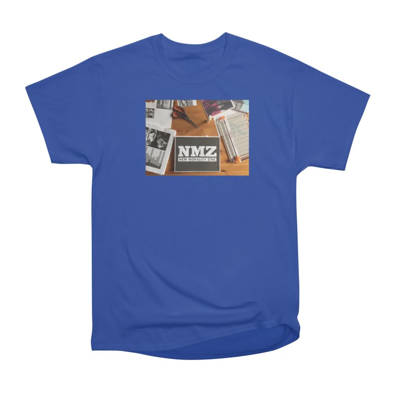 NMZ Issue 5 Men's Heavyweight T-Shirt by New Morality Zine