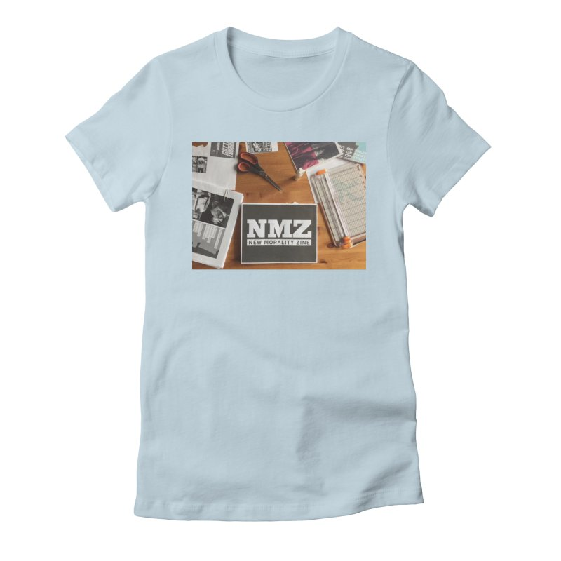 NMZ Issue 5 Women's Fitted T-Shirt by New Morality Zine