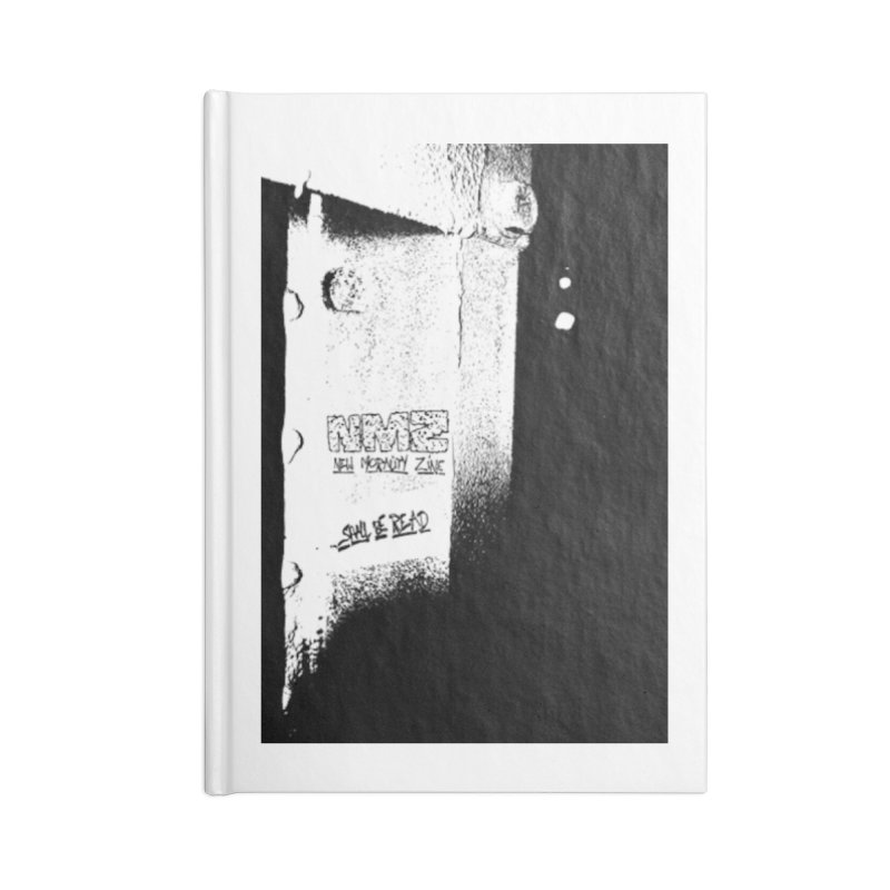 NMZ Issue 3 Accessories Blank Journal Notebook by New Morality Zine
