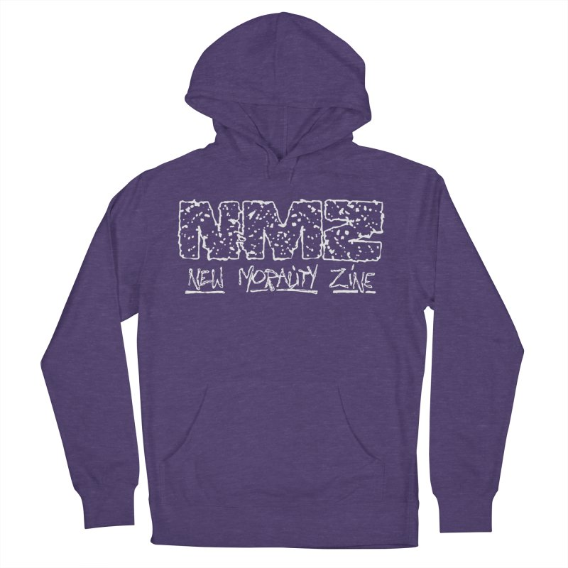 NMZ BURN RIP Women's French Terry Pullover Hoody by New Morality Zine