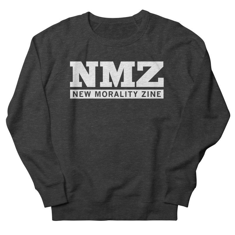 NMZ White Men's French Terry Sweatshirt by New Morality Zine