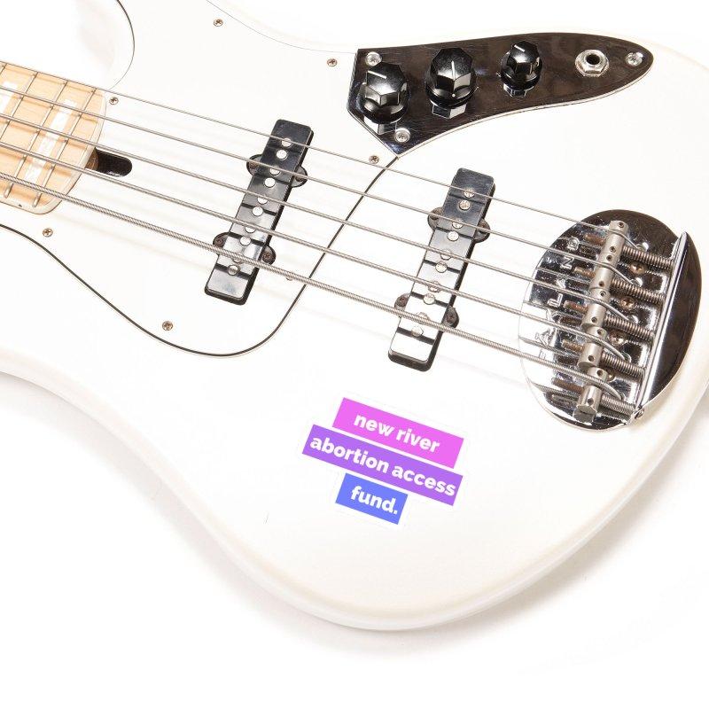 New River Abortion Access Fund Sticker Accessories Sticker by New River Abortion Access Fund Shop