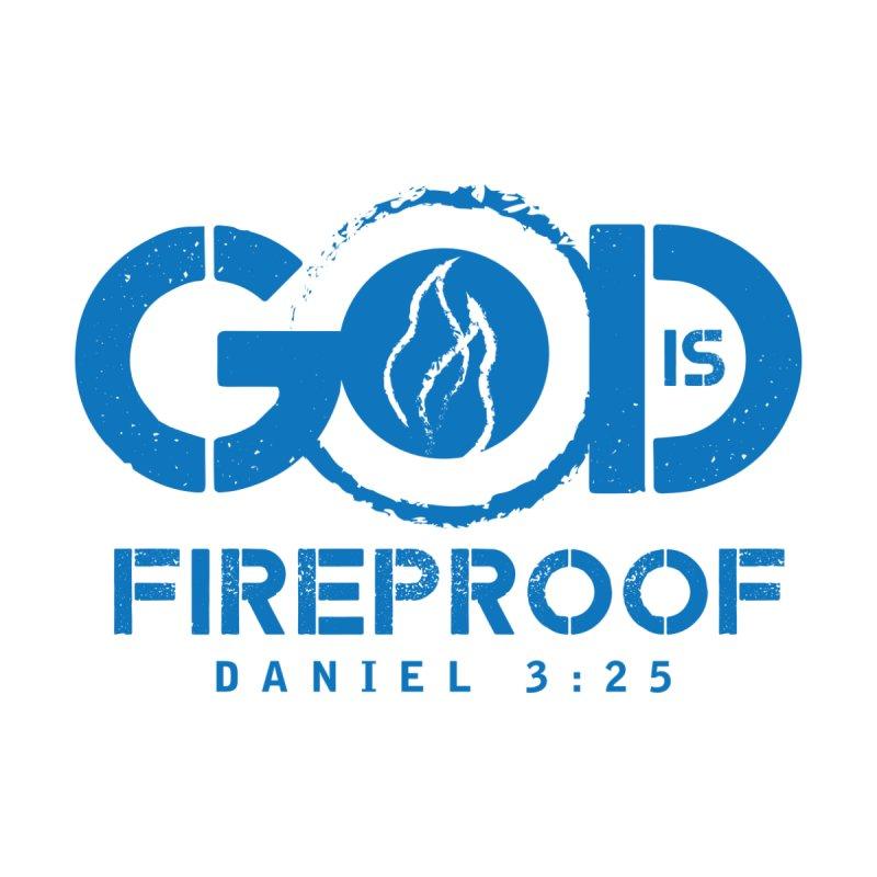 God is Fireproof Women's Tank by NEXCUE MOTIVATIONAL ART