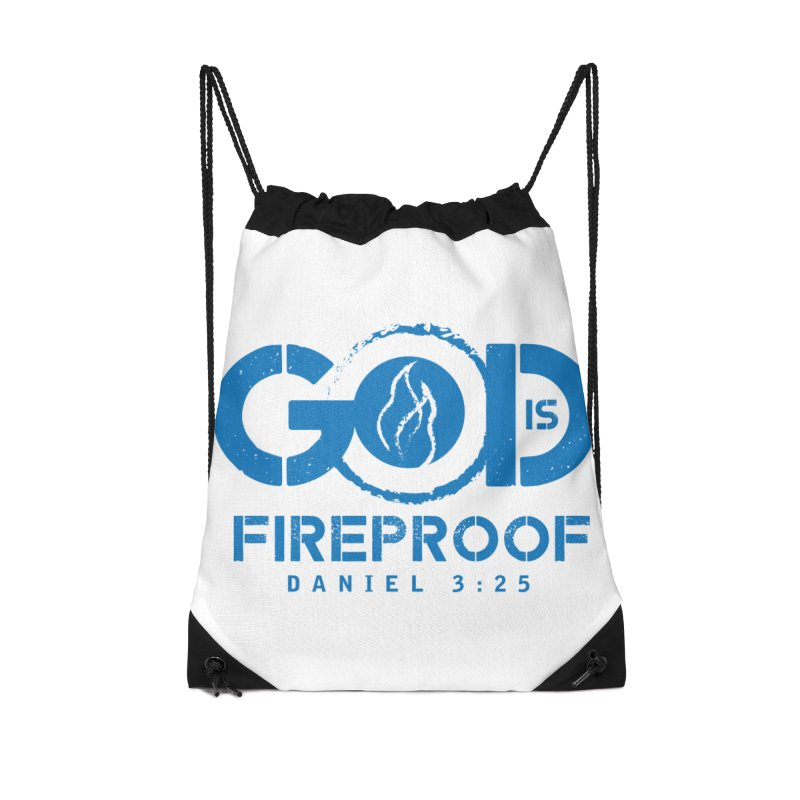 God is Fireproof Accessories Bag by NEXCUE MOTIVATIONAL ART