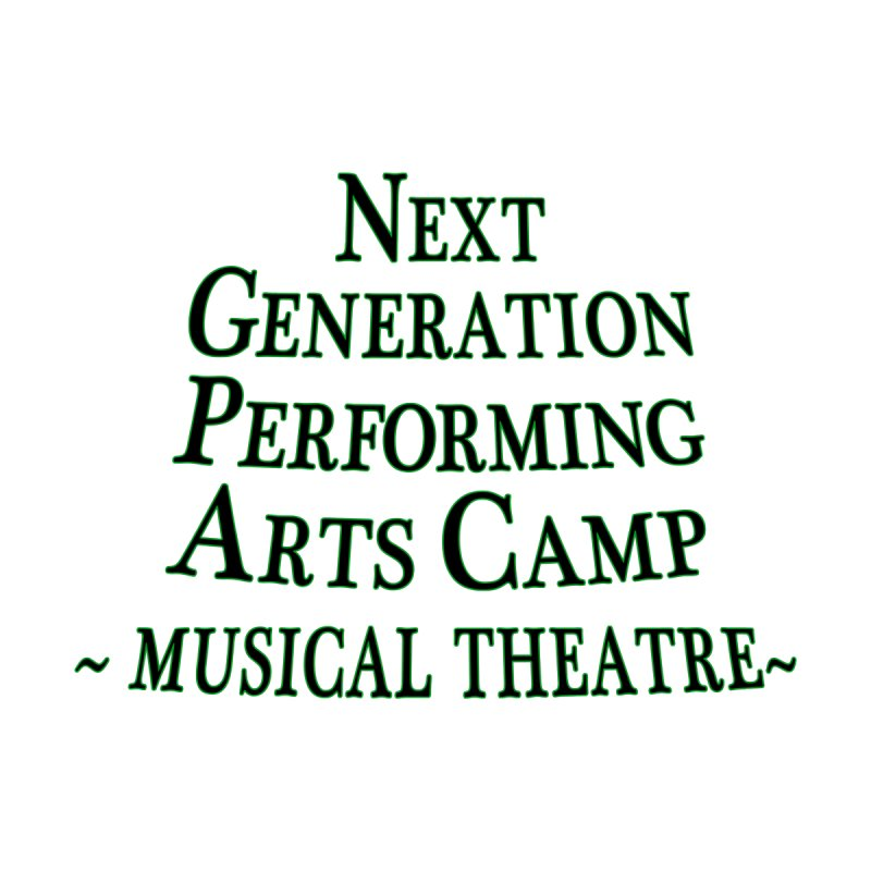 Musical Theatre Design 2 by Next Generation Performing Arts Camp Shop