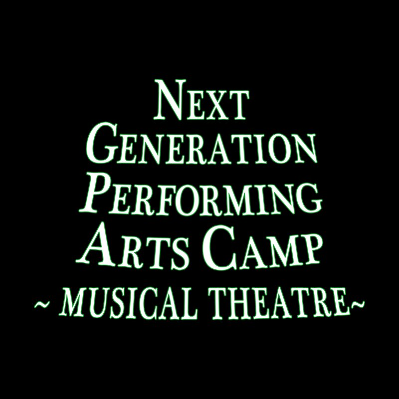 Musical Theatre Design 1 by Next Generation Performing Arts Camp Shop