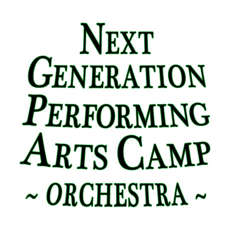Orchestra Design 2 by Next Generation Performing Arts Camp Shop