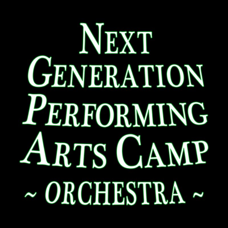 Orchestra Design 1 by Next Generation Performing Arts Camp Shop