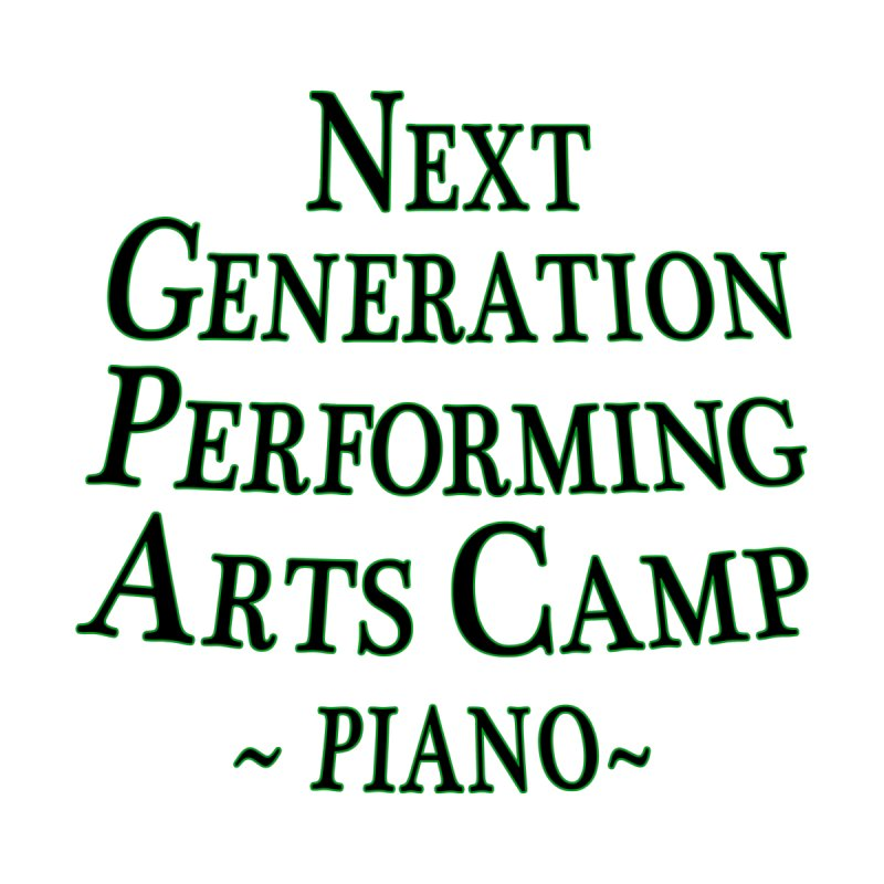 Piano Design 2 by Next Generation Performing Arts Camp Shop