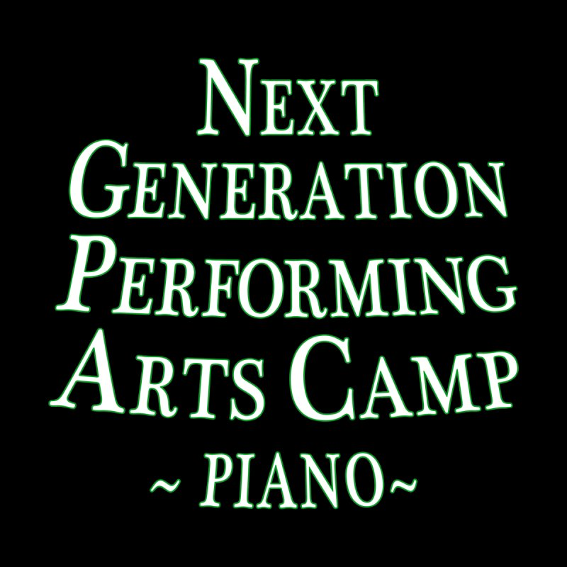 Piano Design 1 by Next Generation Performing Arts Camp Shop