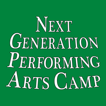 Next Generation Performing Arts Camp Shop Logo