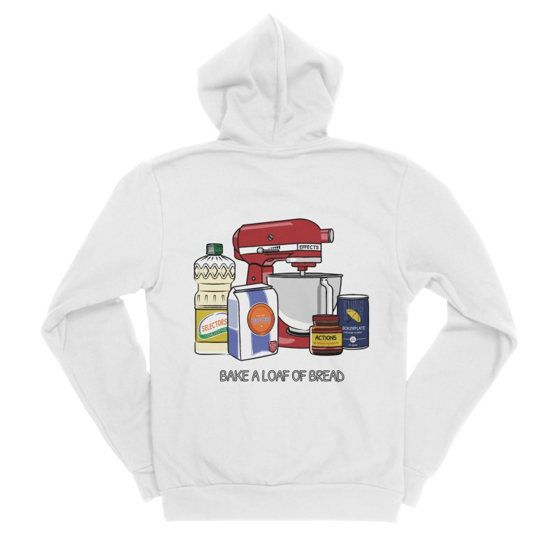 Bake a Loaf of Bread Women's Zip-Up Hoody by NgRx