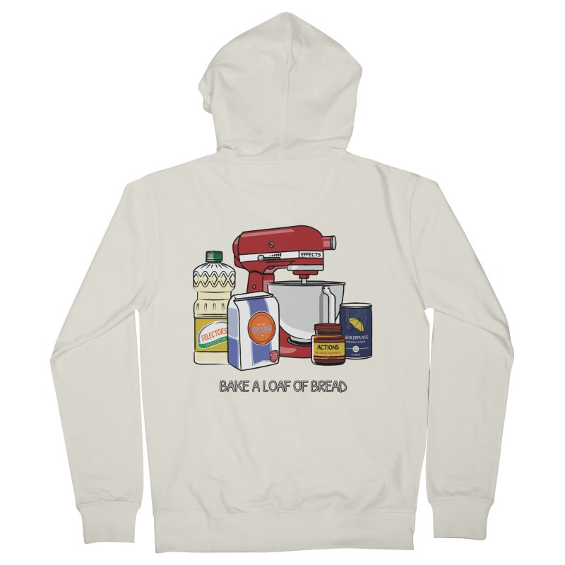 Bake a Loaf of Bread Men's Zip-Up Hoody by NgRx