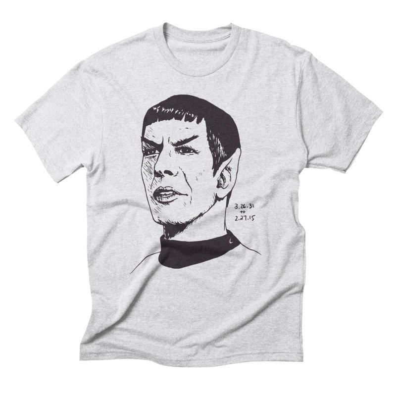 RIP Leonard Men's Triblend T-Shirt by nhanusek's Artist Shop
