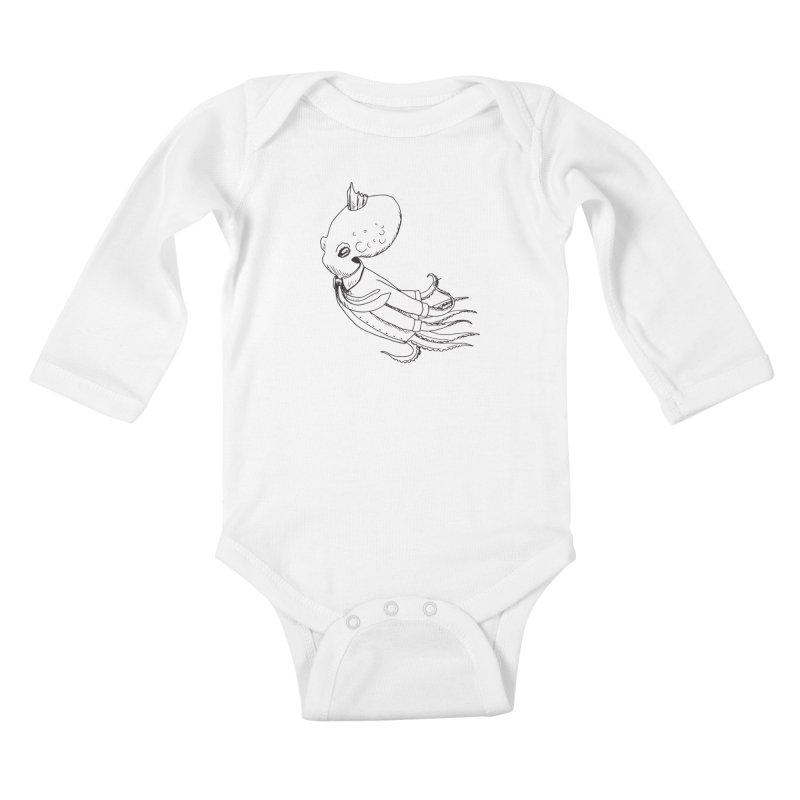 Don't Step On It Kids Baby Longsleeve Bodysuit by nhanusek's Artist Shop