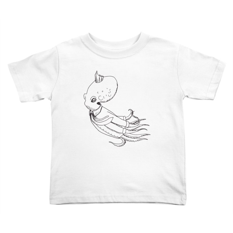 Don't Step On It Kids Toddler T-Shirt by nhanusek's Artist Shop