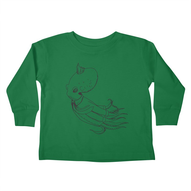 Don't Step On It Kids Toddler Longsleeve T-Shirt by nhanusek's Artist Shop