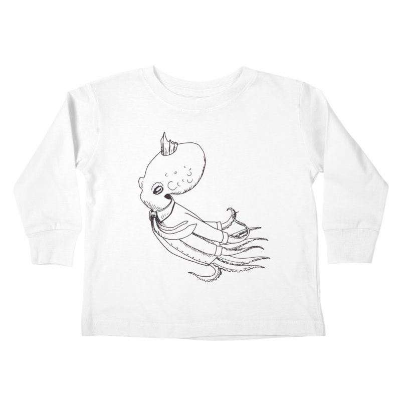 Don't Step On It Kids Toddler Longsleeve T-Shirt by nhanusek's Artist Shop