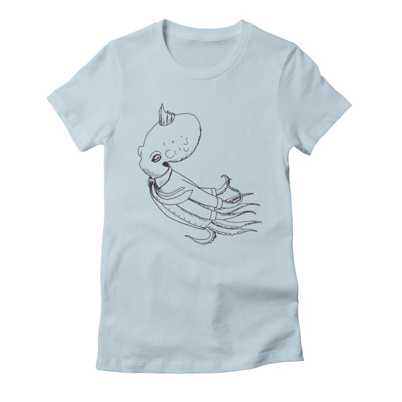 Don't Step On It Women's Fitted T-Shirt by nhanusek's Artist Shop