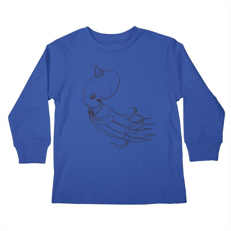 Don't Step On It Kids Longsleeve T-Shirt by nhanusek's Artist Shop