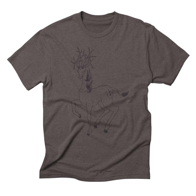 Buffadilo Men's Triblend T-Shirt by nhanusek's Artist Shop