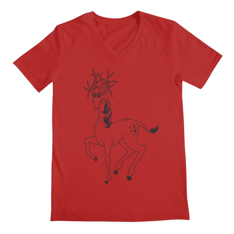 Buffadilo Men's V-Neck by nhanusek's Artist Shop