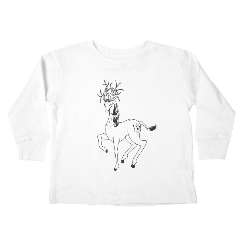 Buffadilo Kids Toddler Longsleeve T-Shirt by nhanusek's Artist Shop