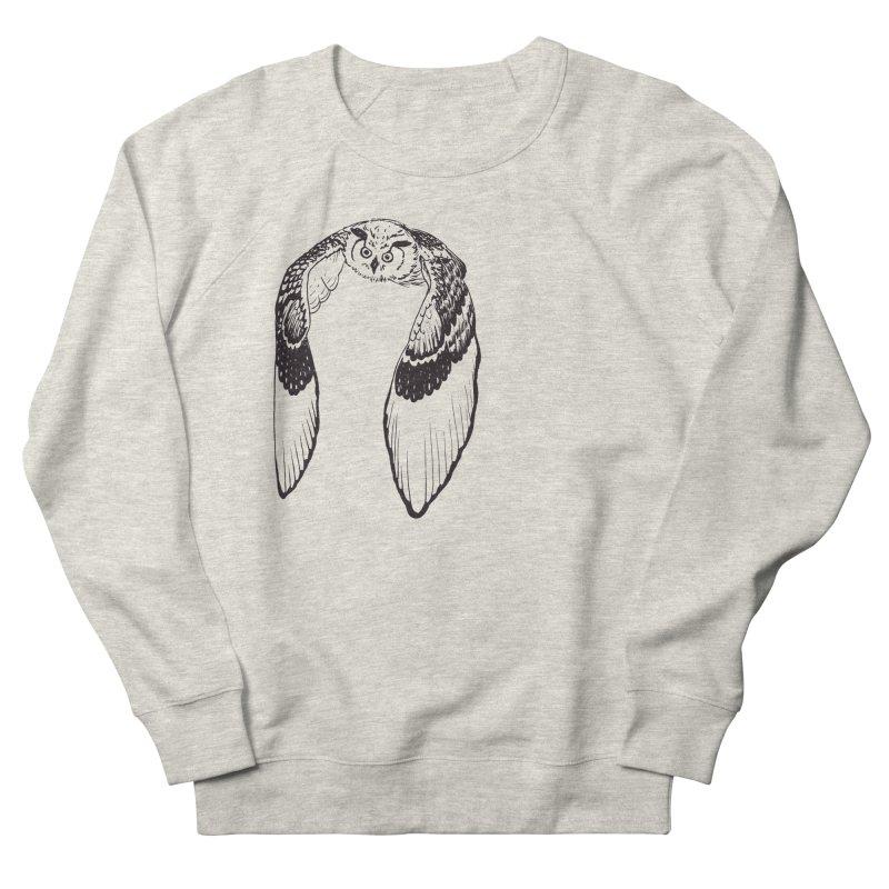 Flying Owl Women's Sweatshirt by nhanusek's Artist Shop