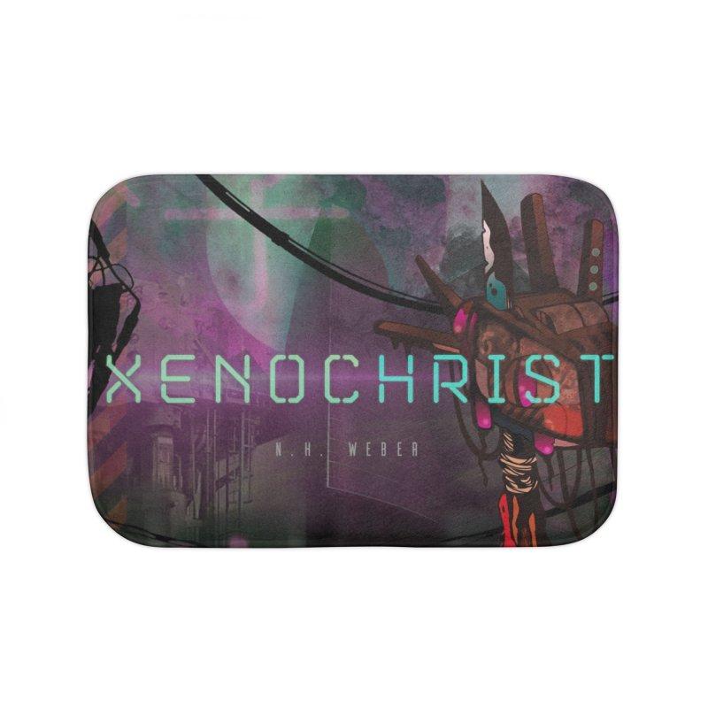XENOCHRIST Cover Home Bath Mat by nhweberbooks's Artist Shop