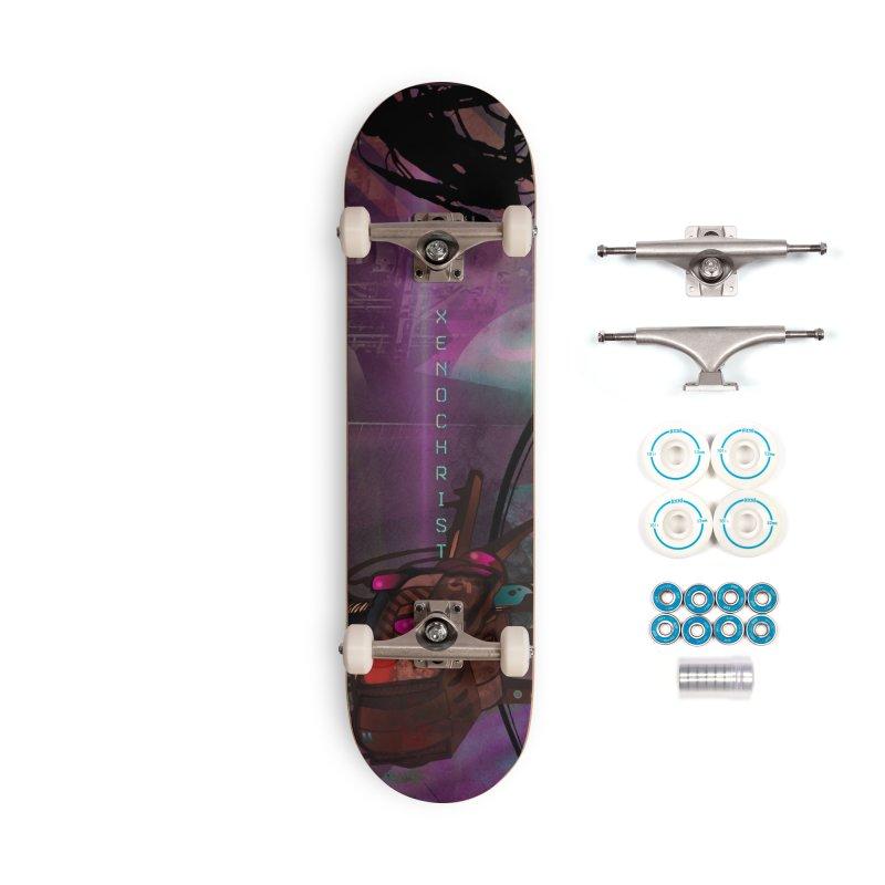 XENOCHRIST Cover Accessories Skateboard by nhweberbooks's Artist Shop