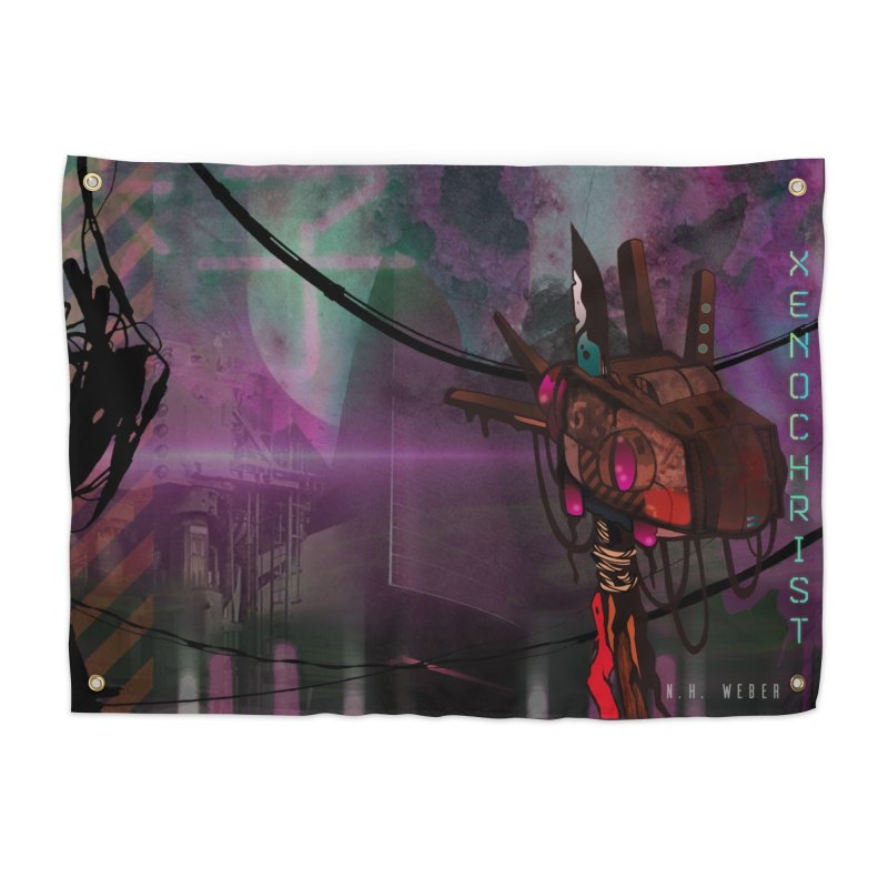 XENOCHRIST Cover Home Tapestry by nhweberbooks's Artist Shop