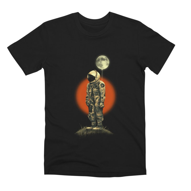 Fly Me To The Moon Men's Premium T-Shirt by nicebleed