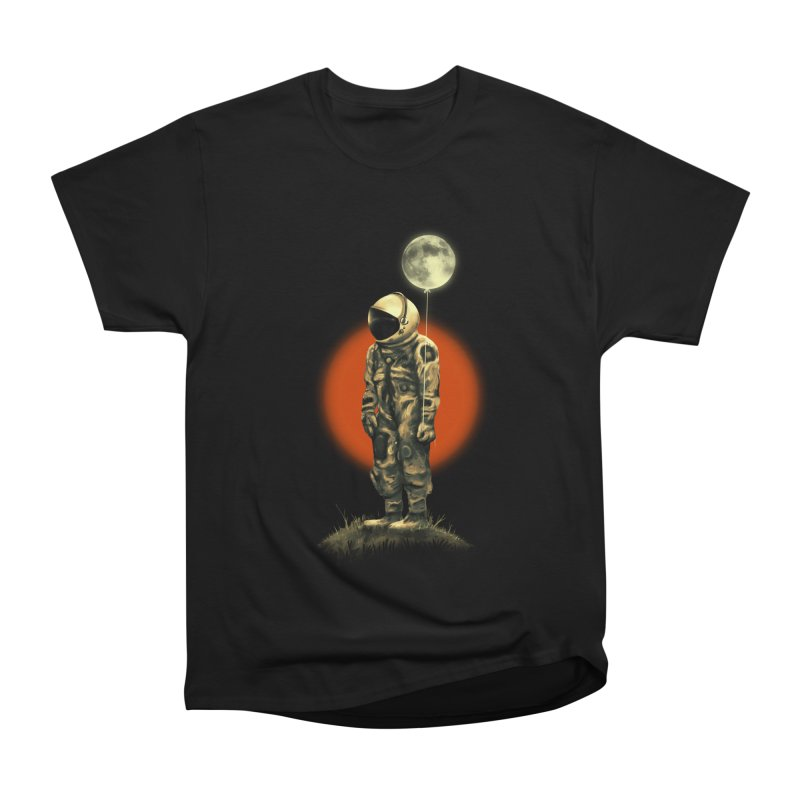 Fly Me To The Moon Women's Heavyweight Unisex T-Shirt by nicebleed