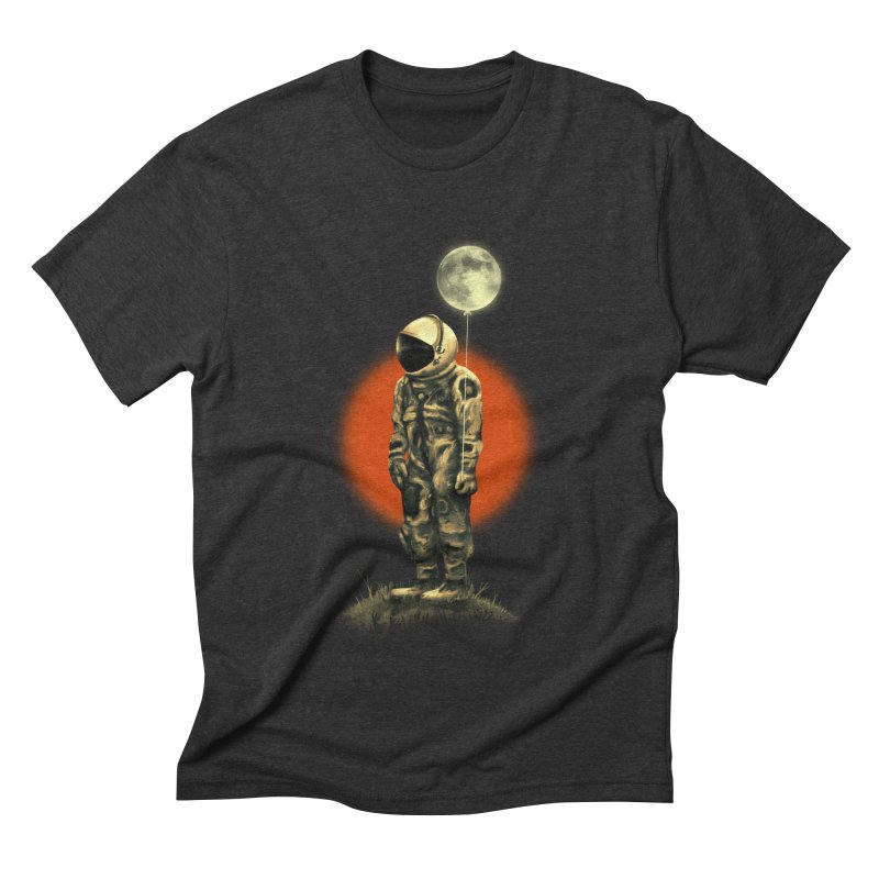 Fly Me To The Moon Men's Triblend T-Shirt by nicebleed
