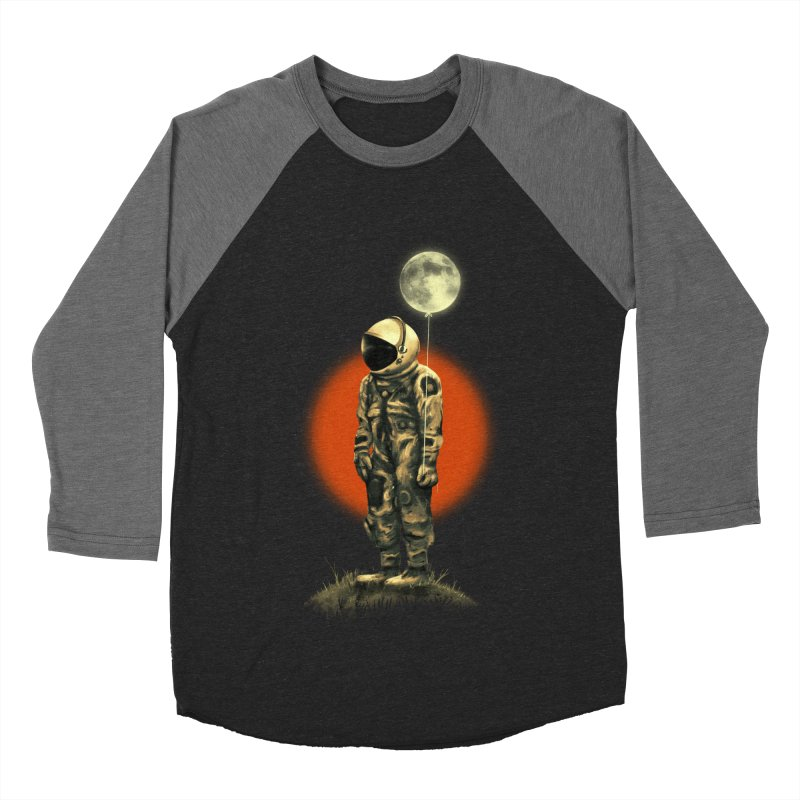Fly Me To The Moon Men's Baseball Triblend Longsleeve T-Shirt by nicebleed