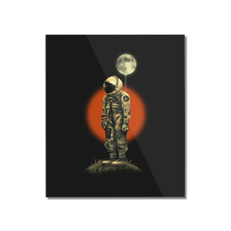 Fly Me To The Moon Home Mounted Acrylic Print by nicebleed