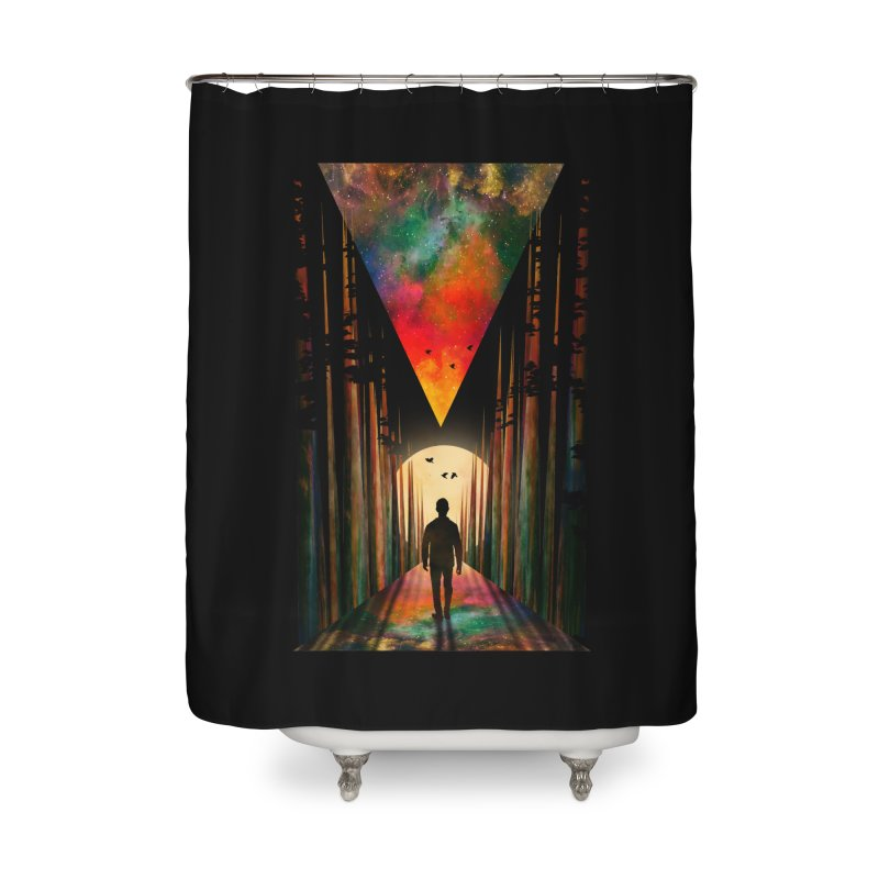 Chasing Sunset Home Shower Curtain by nicebleed