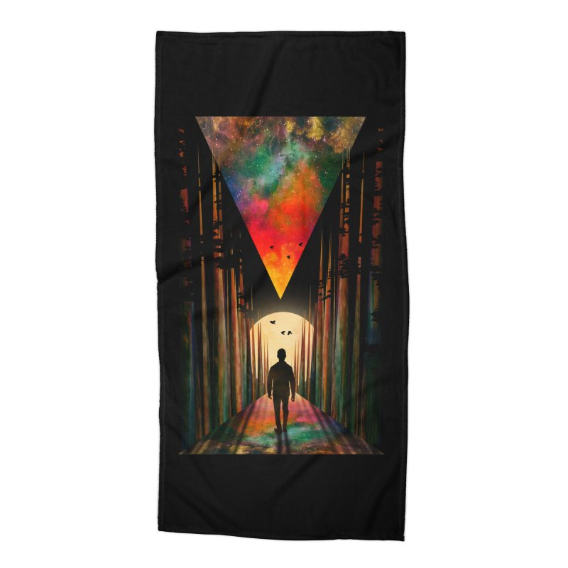 Chasing Sunset Accessories Beach Towel by nicebleed