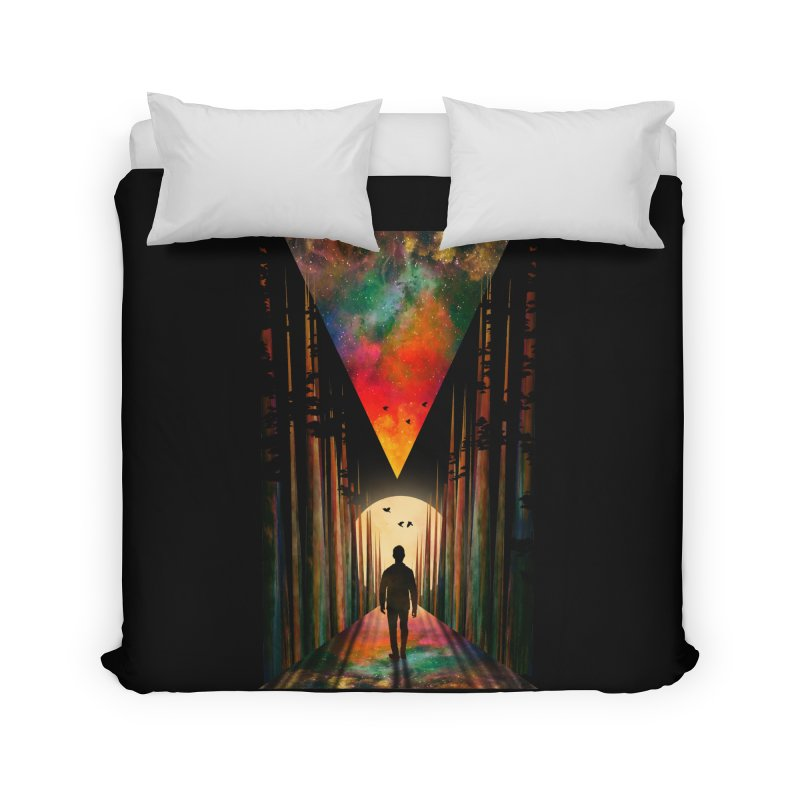 Chasing Sunset Home Duvet by nicebleed