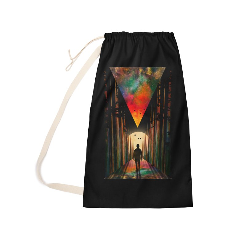 Chasing Sunset Accessories Laundry Bag Bag by nicebleed