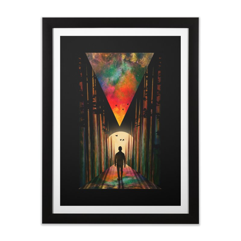 Chasing Sunset Home Framed Fine Art Print by nicebleed