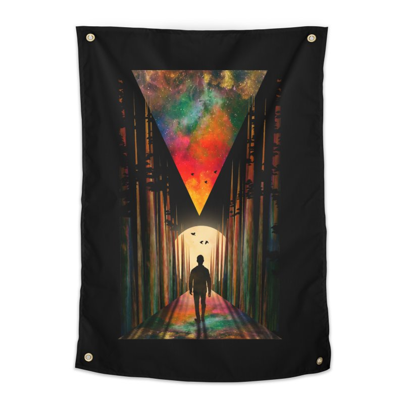 Chasing Sunset Home Tapestry by nicebleed