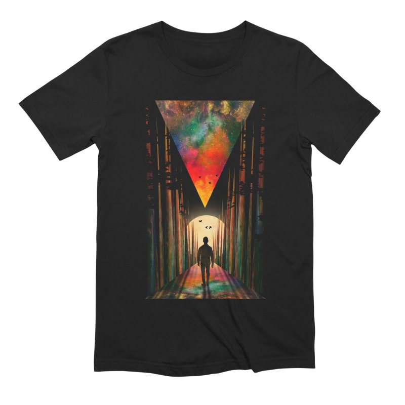 Chasing Sunset Men's Extra Soft T-Shirt by nicebleed