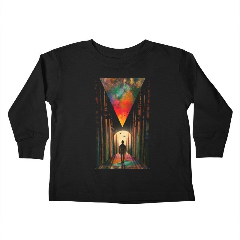 Chasing Sunset Kids Toddler Longsleeve T-Shirt by nicebleed