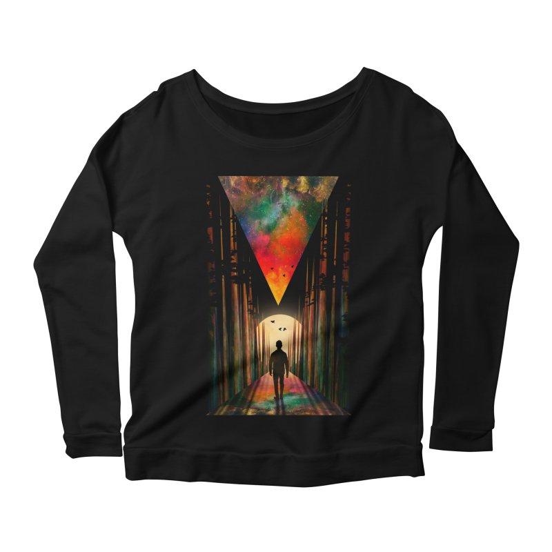 Chasing Sunset Women's Scoop Neck Longsleeve T-Shirt by nicebleed