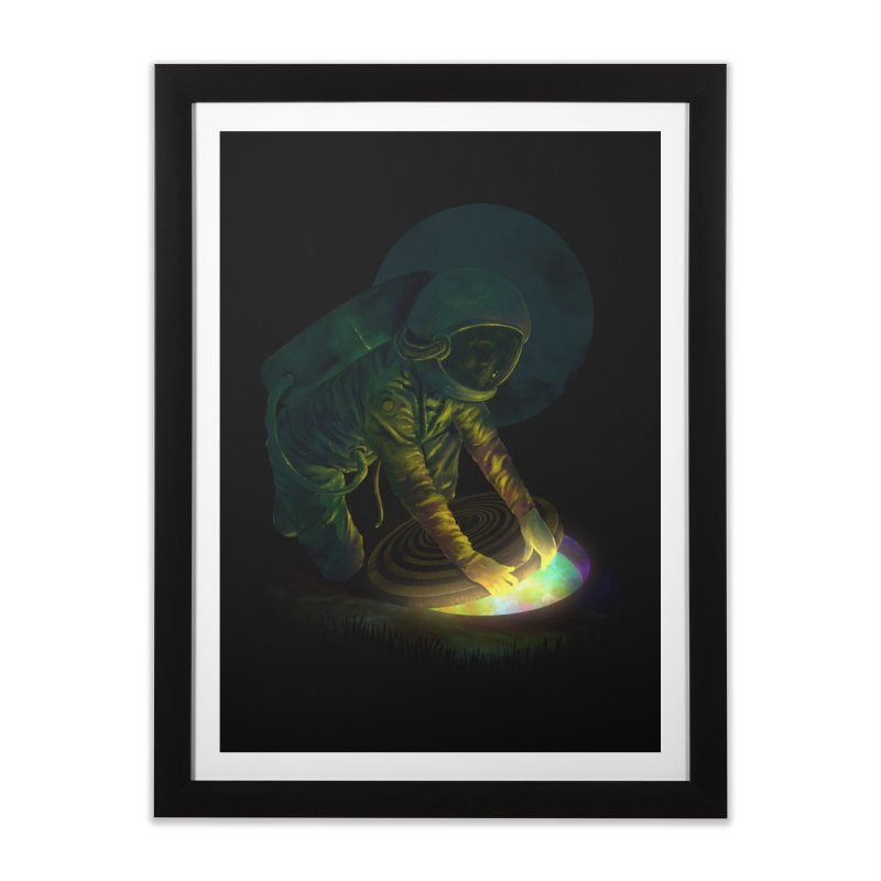The Opening II Home Framed Fine Art Print by nicebleed