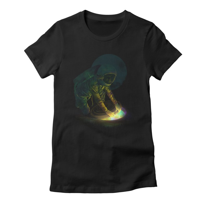 The Opening II Women's Fitted T-Shirt by nicebleed