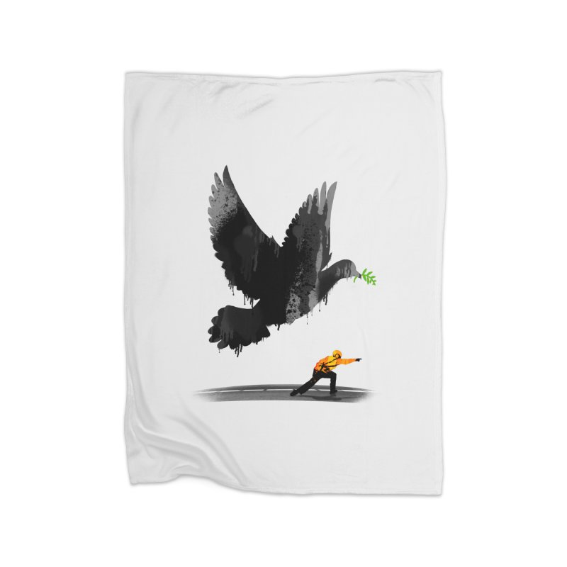 Take Off Home Fleece Blanket Blanket by nicebleed